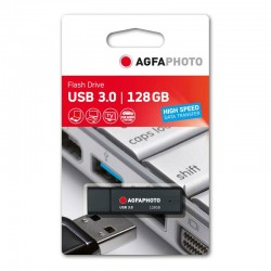 Agfa USB 3,0 Stick 128GB sort